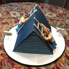 Two Roofers Cake | Flickr - Photo Sharing!