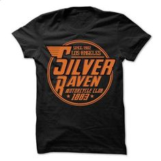 since 1982 los angeles silver raven motorcycle club 198 - teeshirt cutting…