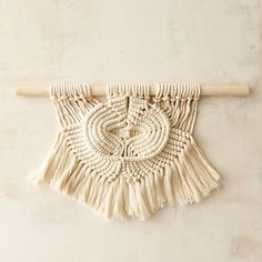 wall hanging 023  //   free shipping by recycledlovers on Etsy