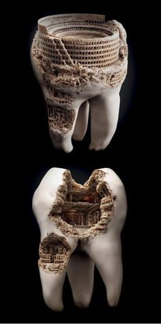 It is truly amazing what some people can create with teeth.