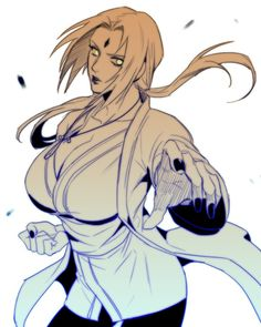 Senju Tsunade. Credits to the respectful artist