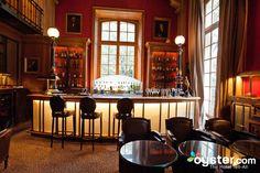Library Bar at the Saint James Paris