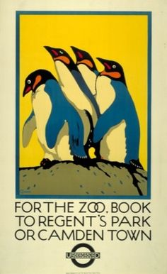 For the zoo book to Regents Park, by Charles Paine, 1921