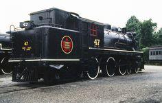 Steamtown, USA former Canadian National Railway commuter steam ...