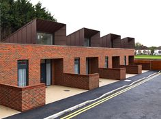 Greenwich Housing is new public housing project for elderly and disabled people, comprising 22 single storey houses built across six sites in the Royal Borough of Greenwich.