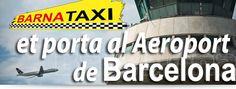 Del centre de #Barcelona al Aeroport del Prat per menys de 30€. T'hi portem? www.barnataxi.com
