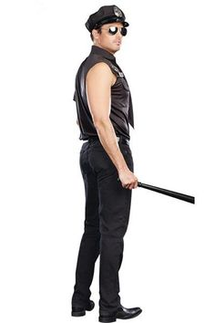 Dirty Cop Officer Ed Banger Costume