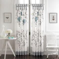 KAS® Alaina 84-Inch Window Curtain Panel Pair - BedBathandBeyond.com