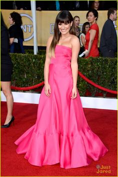 Lea Michele's dress is to die for!