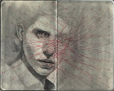 Mike Creighton is a multidisciplinary artist living and working in Portland, Oregon. Artist Journal, Artist Sketchbook, Collages, Moleskine, Sketchbook Inspiration, Sketchbook Ideas, Amazing Art, Awesome, Book Art