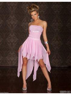 High Low, Strapless Dress, Dresses, Fashion, Strapless Gown, Vestidos, Moda, Fashion Styles, Dress