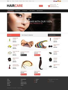 Inspire yourself!   Hair Care OsCommerce Template CLICK HERE! live demo  http://cattemplate.com/template/?go=2dxZEQ4