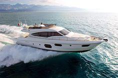 External view Ferretti Yachts - Ferretti 620 #yacht #luxury #ferretti