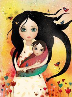 Elfish mother - Pictify - your social art network Agnieszka Szuba