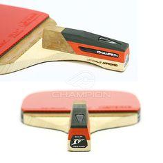 Champion V3.5P Penhold Table Tennis Racket Ping Pong offensive Bat Paddle Blade | eBay