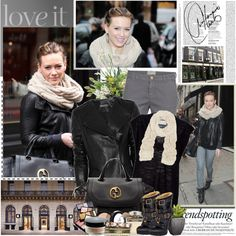 Style Diary : Hilary Duff- Polyvore