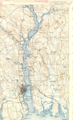 1893 Typographical Map