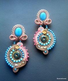 Sale Sale Soutache earrings by BozenaKorwatJewelry on Etsy