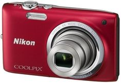 Buy Nikon Coolpix S2700 Point & Shoot Camera(Red) Online at Best Offer Prices @ Rs. 5,236/- In India.