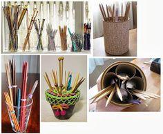 Knitting Needles Storage Ideas