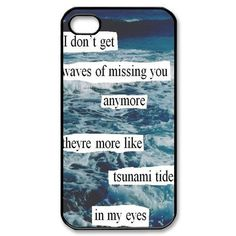 Ed Sheeran Quotes iPhone 4 4s Case Hard Plastic iPhone 4 4s Case:Amazon:Cell Phones & Accessories