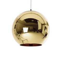 Round Pendant Light by  by Tom Dixon