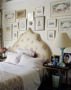 That one bed I upholstered a long time ago... - Little Green Notebook
