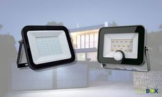 proeictor led si senzor de prezenta proeictor led exterior lampa led led-box.ro