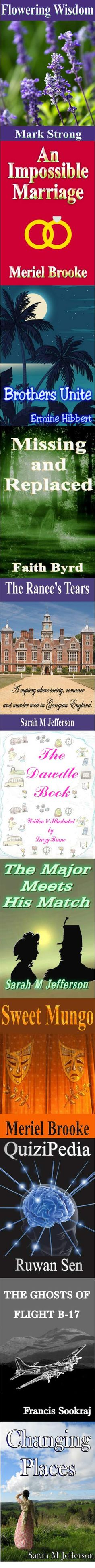 A variety of books for adults and children from Ex-L-Ence Publishing http://qtvh.com/yourls/bo