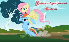Introduce all your friends to kindness Fluttershy kindness quote MLP
