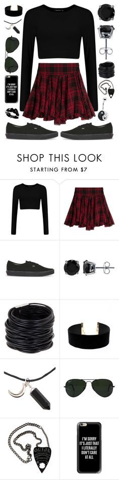 """""""Random #239"""" by maddyisaunicorn ❤ liked on Polyvore featuring Polo Ralph Lauren, Vans, BERRICLE, Saachi, LULUS, Ray-Ban, Casetify and Crystal Evolution"""