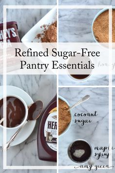 Refined Sugar-Free Pantry Essentials from AmyGreen.me #spon