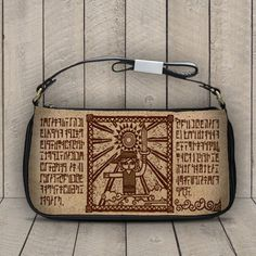 Ancient Zelda Script The Legend of Zelda Wind Wacker by AmazingBagsShop, $13.98