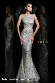 Sherri Hill 4802  Sherri Hill Mother of the Bride, Prom, Quinceanera, Special Occasion Dresses, Formalwear, Formal Attire, Second Weddings