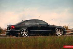 Mercedes-Benz E 55 AMG on Vossen Wheels: Photo Collection Mercedes Clk 350, Mercedes E Class, Benz E Class, Mercedes Benz Cars, Cl 500, Mercedes Models, Vossen Wheels, Classic Mercedes, Top Cars