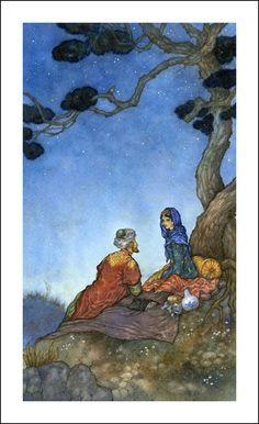 Rubáiyát of Omar Khayyám. Illustrations by Niroot Puttapipat.