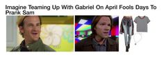 """""""Imagine Teaming Up With Gabriel On April Fools Day To Prank Sam"""" by alyssaclair-winchester ❤ liked on Polyvore featuring Monki, Refuge, Hot Topic, imagine, supernatural, samwinchester and gabriel"""