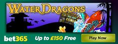 bet365 Games has launched the Water Dragons slot – read about the popular land based slot and how to get up to £150 free: http://www.casinomanual.co.uk/bet365-games-launches-igt-water-dragons-slot/