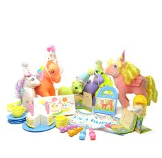 My Little Pony Party Gift Pack set with ponies and accessories