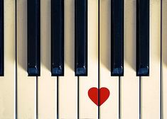 black and white photography vintage piano heart by mylittlepixels on Etsy.