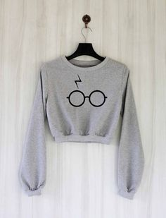 Pott Head Shirt Harry Potter Crop Top Sweatshirt Sweater by SaBuy