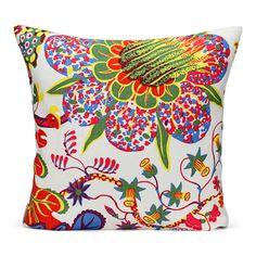 Kudde Brazil Lin  Vivid and colorful floral prints!