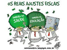 Chargista Cearense Newton Silva: AJUSTES FISCAIS