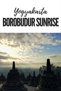 From Borobudur sunrise to Ratu Boko sunset as well as everything in between. Read about our Trip of Wonders in Yogyakarta (Jogjakarta). Check out what to do in Yogyakarta, Indonesia. Borobudur Temple, Building Photography, Chasing The Sun, Worlds Largest, Traveling By Yourself, Travel Destinations, Sunrise, Wanderlust, Around The Worlds