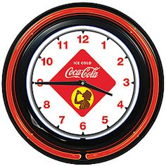 Here's a vintage design reminiscent of those old diner clocks cherished by Americana collectors!