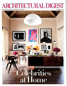 ARCHITECTURAL DIGEST Magazine March 2016