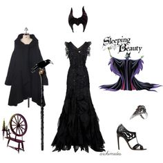 Love that dress. And it just so happens that Malificent is my FAVORITE Disney character. Ursula is a close second.