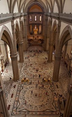 st. Maria del Fiore, Florence, interior