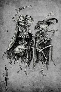 Danse Macabre    Elias Aquino