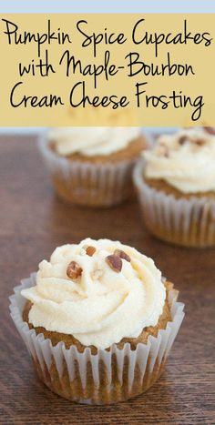 ... with Maple-Bourbon Cream Cheese Frosting || A Less Processed Life